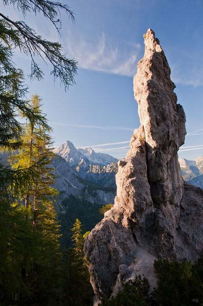 Wegen solcher Trümmer heißt der Dolomitensteig wohl Dolomitensteig