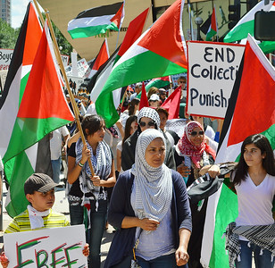 Palestinian Protest-Denver-8/2/14