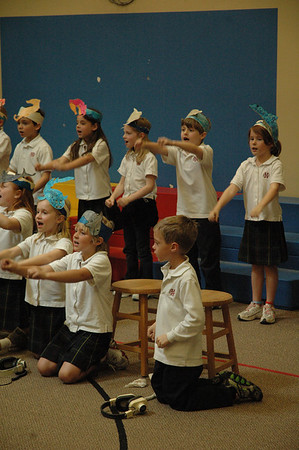 First Grade King Neptune Day