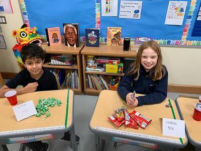MLS Grade 2 Math Bake Sale - February 12, 2020