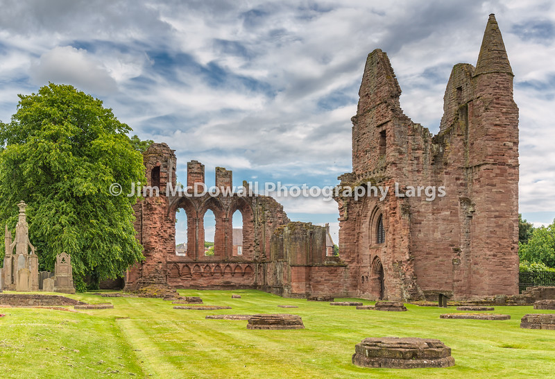 Ancient Ruins of Arbroath Abbey.