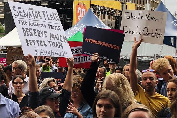Stop Kavanaugh Rally