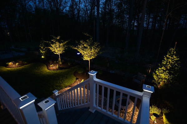 Backyard Low-voltage Lighting