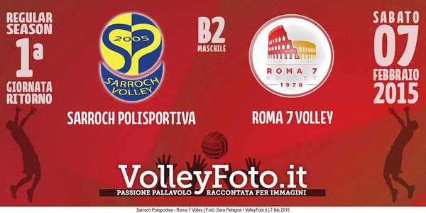 Sarroch Polisportiva - Roma 7 Volley