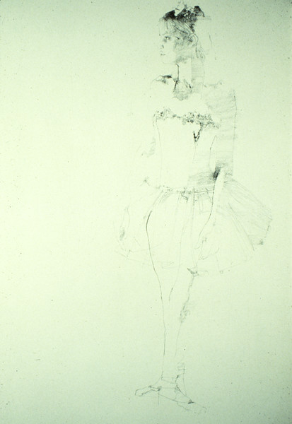"""Study for """"Opening Night"""" (1979)"""