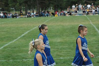 Shelby Lions Football Club - 2005 Freshman Cheer Squad