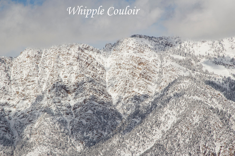 The Whipple Couloir