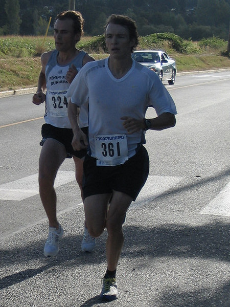 2005 Run Cowichan 10K - Tiffany Evans