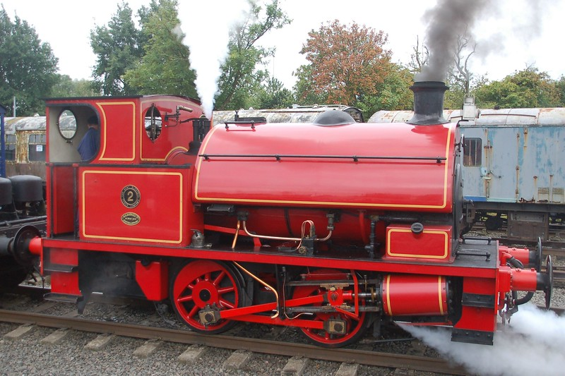 WB 2842 2 - Chasewater Railway - 10 September 2017