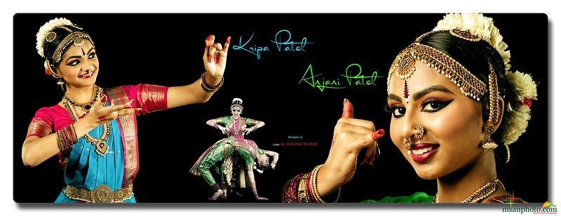 Anjni & Kripa's Pre-Arangetram Portraits 2021