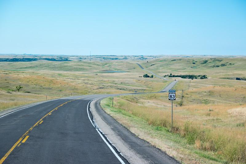 South Dakota US-83
