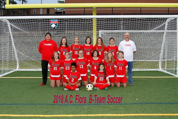 2018 Girls Soccer  B-Team