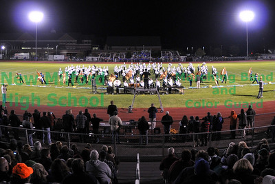 NMHS Marching Band Home Show (2nd photo set), October 9, 2010