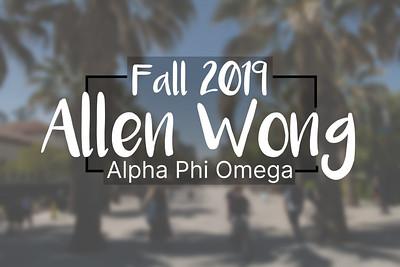 Fall 2019  -  Allen Wong