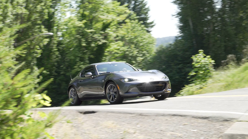 2017 Mazda MX-5 Grand Touring RF Driving Reel