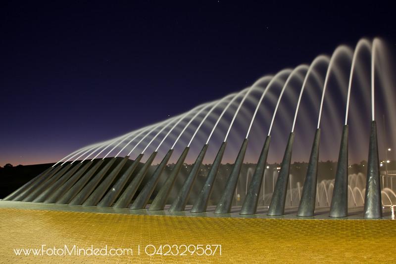 Sydney Olympic Park fountain