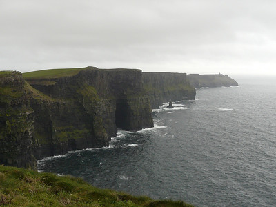 2008 hike to the Cliffs of Moher, Ireland