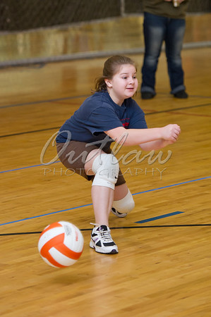Volleyball @ Boys & Girls Club - Dec 17, 2011
