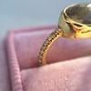 1.56ct Rustic Rose Cut Diamond Bezel Ring, by Single Stone 28