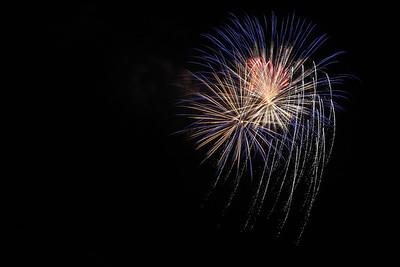Conneaut fireworks, Sept. 1, 2012