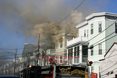 Boston, MA - 3rd Alarm, 11 Montfern Ave, 4-9-06