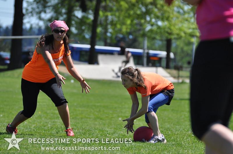 Recesstime Sports Leagues Portland Kickball Spring 2013 Dodgeball Bowling Ping Pong Mushball - 086