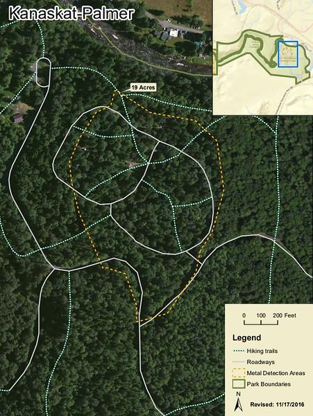 Kanaskat-Palmer State Park (Metal Detection Areas)