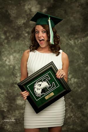 Kaleigh Graduation - Studio