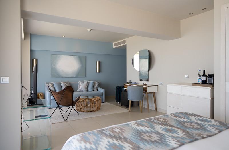 Junior Suite at the Ikos Dassia, Corfu