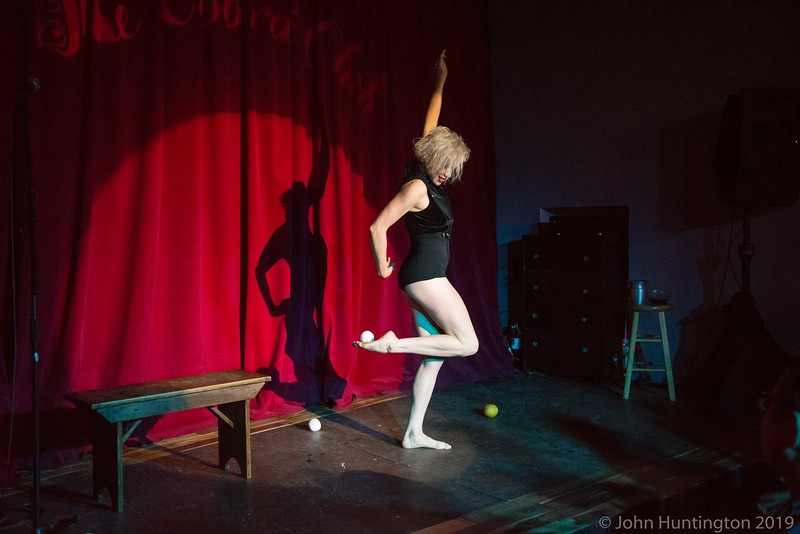 Force Majeure Vaudeville at the Cobra Club, October 20, 2016