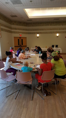 Coloring and Kibbitzing with Rabbi Mina July 2016