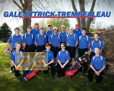 G-E-T boys' golf BG19