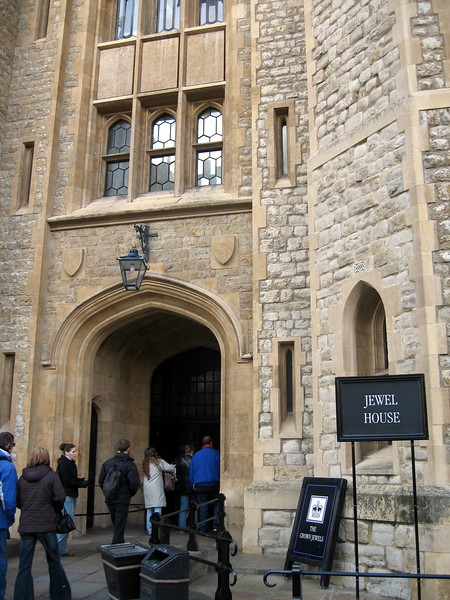 The Jewel House, where the Crown Jewels have been kept since 1303.