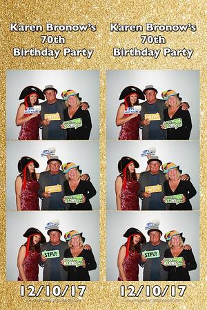 Karen's 70th Birthday Party