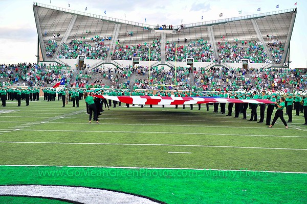Houston  Cougars @ Mean Green