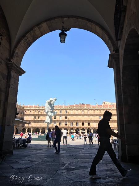 Plaza Mayor, Salamanca. Spain.