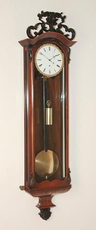 VR-569  Single Weight Late Biedermeier Vienna Regulator