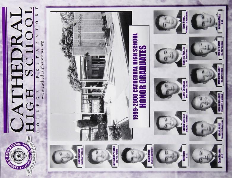 2000, Honor Graduates