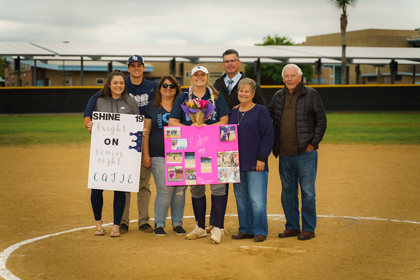 5-10-19 Senior Night vs Santana