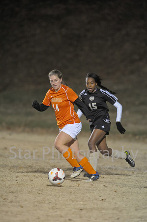 Milligan vs VI Women 11-5-2013