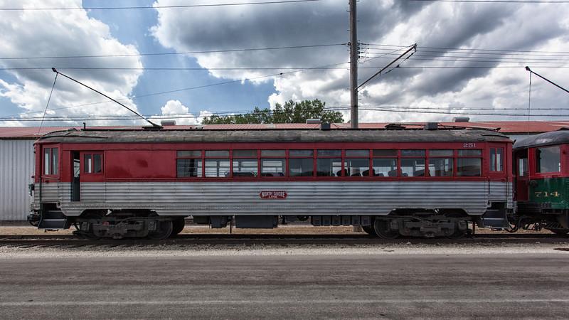 North Shore Line Trolley 251