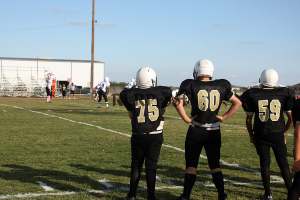 SMS Football vs Crowley Oct 11, 2011