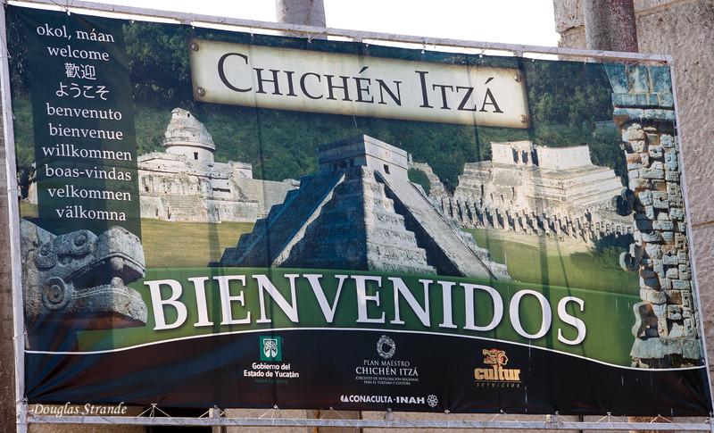 Welcome to Chichen Itza