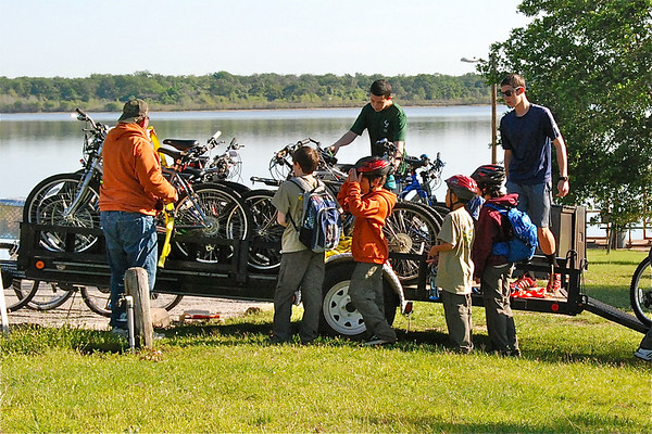 """Bicycle/""""Wheels"""" Campout"""