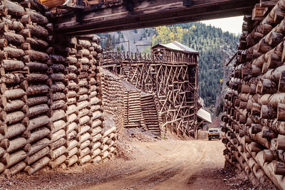 Colorado Horsepacking Fall 1986