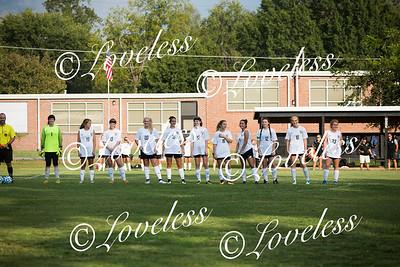 Girls Soccer Senior Night 9/21/17