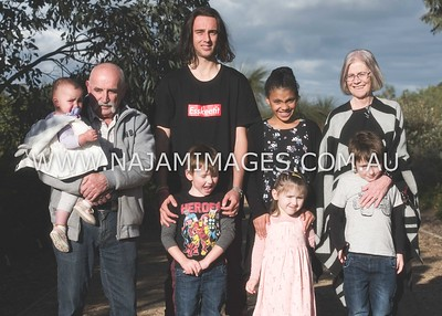 Jeff and Robyn's Family Session