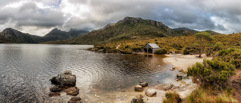 Dove Lake Pano