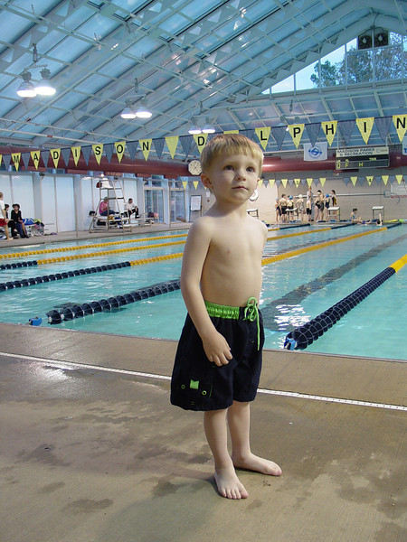 2004 Matthew Swimming Lessons