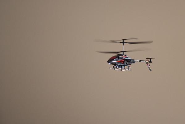 Oskar's Helicopter